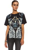 Barbara Bui Graphic Cotton Tee - Lyst