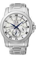 Seiko Mens Kenetic Perpetual Stainless Steel Bracelet Watch 42mm Snp091 - Lyst