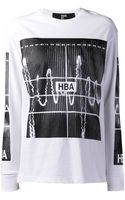 Hood By Air Graphic Shirt - Lyst