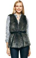 C. Wonder Faux Fur Vest - Lyst