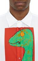 Marni Dinosaurprint Poplin Shirt - Lyst