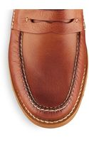 Frye Otis Leather Penny Loafers - Lyst