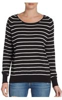 Joie Striped Stretchwool Sweater - Lyst