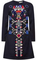 Mary Katrantzou Embellished-wool Dress - Lyst