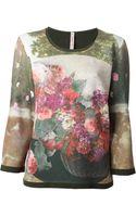 Antonio Marras Floral Print Sweatshirt - Lyst