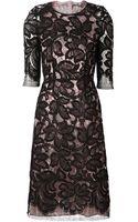 TOME Lace Foil Dress - Lyst