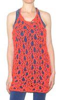 Pima Doll Hand Knit Racerback Dress - Lyst