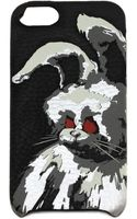 McQ by Alexander McQueen Angry Bunny Iphone 5  5s Case - Black - Lyst