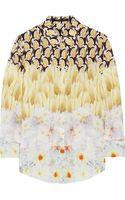 Mother Of Pearl Keres Printed Silk Crepe De Chine Shirt - Lyst