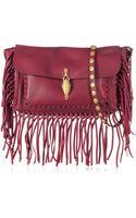 Valentino Fringe Leather Shoulder Bag - Lyst