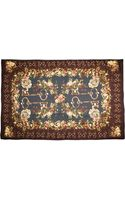 Dolce & Gabbana Key and Floral Print Scarf - Lyst