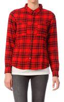 Volcom Shirt Blouse - Lyst
