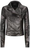 Paige Metallic Brooklyn Denim Jacket - Lyst
