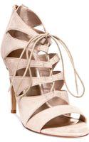 Madden Girl Raceyyy Ghillie Dress Sandals - Lyst