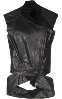 Haider Ackermann Leather Outerwear - Lyst