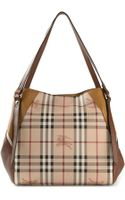 Burberry London Haymarket Check Tote - Lyst