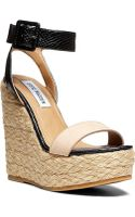 Steve Madden Hamptin Wedge Sandals - Lyst