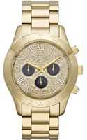Michael Kors Mens Chronograph Layton Goldtone Stainless Steel Bracelet 44mm - Lyst
