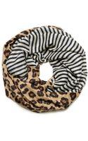 Tory Burch Ocelot Leopard Infinity Scarf - Lyst