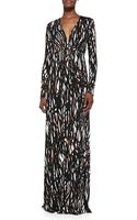 Rachel Pally Longsleeve Printed Caftan Maxi Dress - Lyst