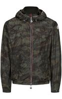 Moncler Camouflage Print Nath Jacket - Lyst
