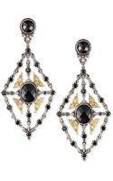 Konstantino Onyx  Spinel Chandelier Earrings - Lyst