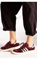 Adidas Blue Calf Campus 80s Womens Sneaker - Lyst