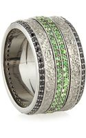 Stephen Webster Mens Sapphire  Tsavorite Ring - Lyst