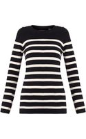Chinti & Parker Guernsey Striped Cashmere Sweater - Lyst