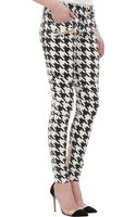 Balmain Coated Houndstooth Jeans - Lyst