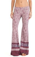 Free People Flare Pull On Pant - Lyst