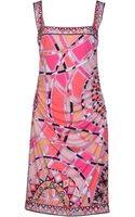 Emilio Pucci Knee-length Dress - Lyst