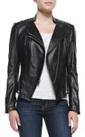 Dawn Levy Quin Leather Double-zip Jacket - Lyst