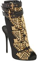 Giuseppe Zanotti 120mm Embellished Suede Boots - Lyst