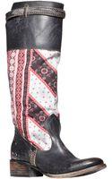 Freebird By Steven Sullivan Tall Leather Boots - Lyst