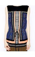 Greylin Shift Dress in Mirror Print - Lyst