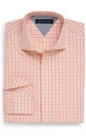 Tommy Hilfiger Wrinkleresistant Plaid Dress Shirt - Lyst