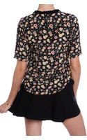 Elizabeth And James Piper Floral Top - Lyst