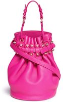 Alexander Wang Diego Grainy Leather Bucket Bag - Lyst