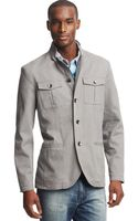 Kenneth Cole Reaction Military Blazer - Lyst
