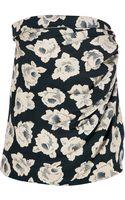 Ungaro Vintage Floral Print Sleeveless Top - Lyst