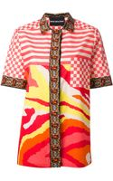 Marco Bologna Multi Pattern Blouse - Lyst