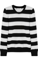 Equipment Shane Striped Cashmere Sweater - Lyst
