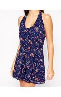 French connection Andreanna Playsuit - Lyst