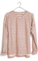 Madewell Surfbreeze Sweatshirt in Stripe - Lyst