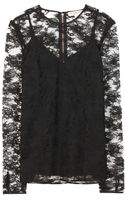 Burberry Lace Top with Camisole - Lyst