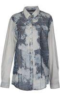 Pierre Balmain Long Sleeve Shirt - Lyst