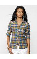 Denim & Supply Ralph Lauren Kona Plaid Cowgirl Shirt - Lyst