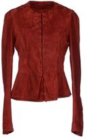 Roberta Furlanetto Leather Outerwear - Lyst