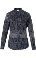 Maison Martin Margiela Multi Dotprint Cotton Shirt - Lyst